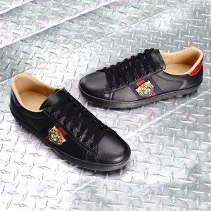 Giày Gucci con hổ màu đen GCGN5359