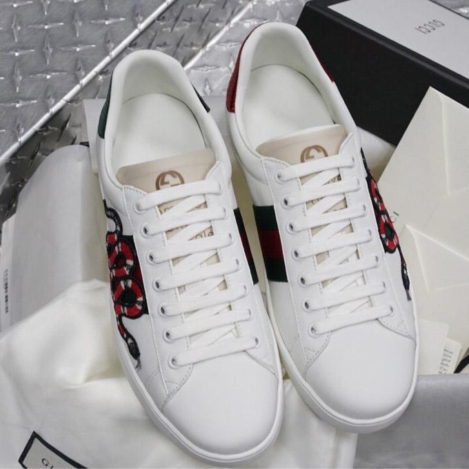 Giày Gucci nam siêu cấp họa tiết rắn GCGN5360