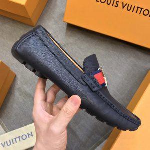 Giày mọi nam Louis Vuitton màu xanh đậm