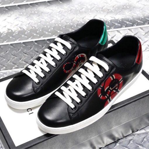 Giày nam Gucci con rắn