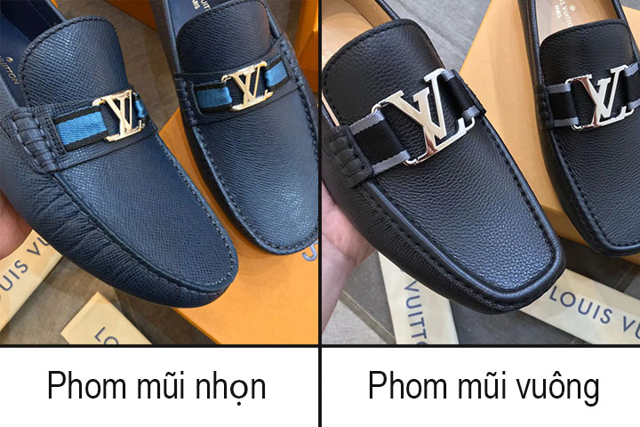 Phom giày nam Louis Vuitton