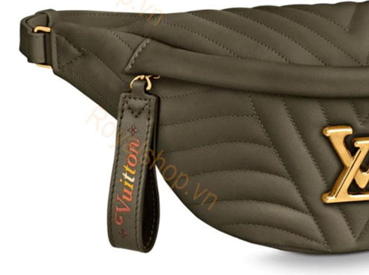 Một chiếc túi xách LV sử dụng da bê new wave