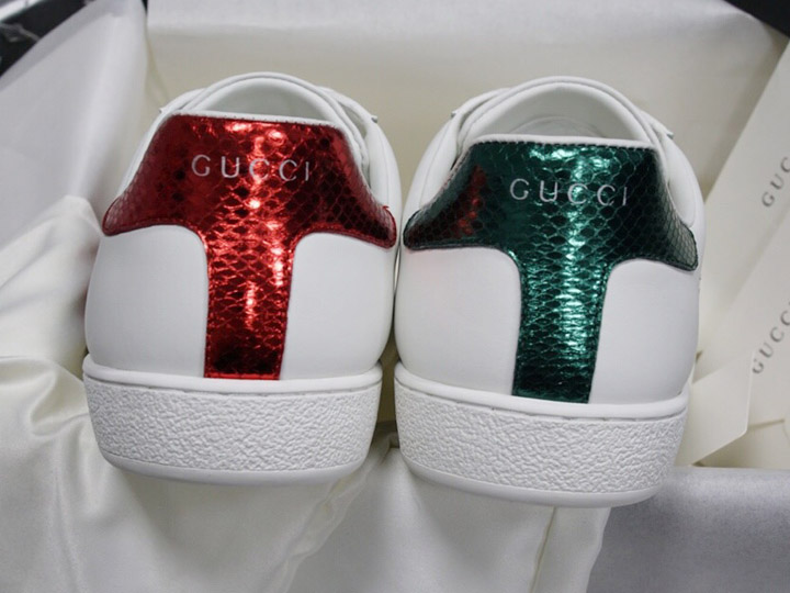 Phần gót giày Gucci