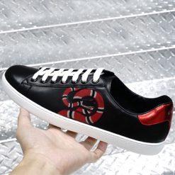 Sneaker Gucci rắn cao cấp