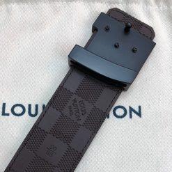 Thắt lưng nam Louis Vuitton khóa đen