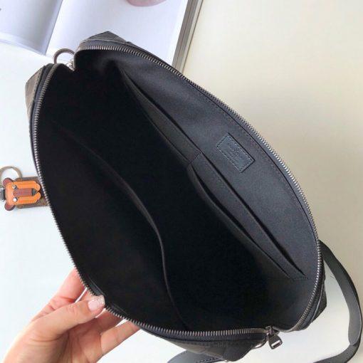 Bên trong túi xách nam công sở LVTN8807