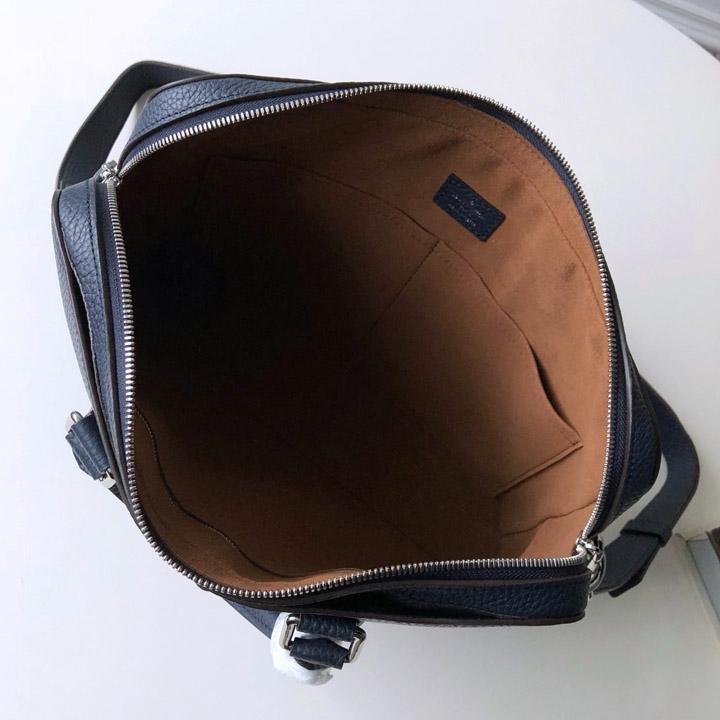 Chi tiết bên trong túi xách nam LV siêu cấp