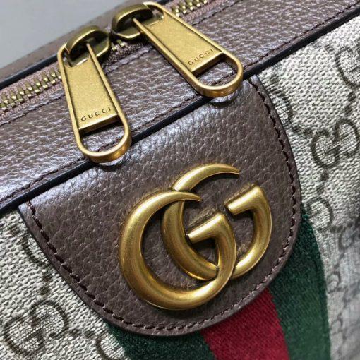 Khóa kéo đôi và mặt khóa GG trang trí màu cổ điển