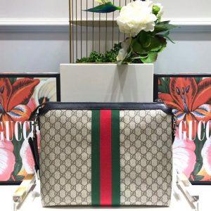 Mặt sau túi xách nam Gucci đeo chéo siêu cấp