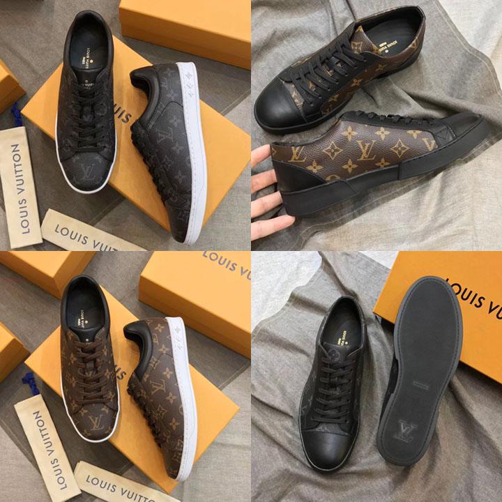 Giày nam LV sneaker chơi tết