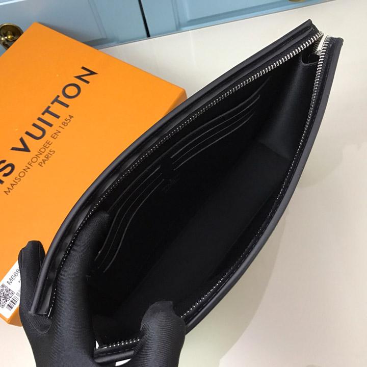 Bên trong túi LV Clutch LVTN8233