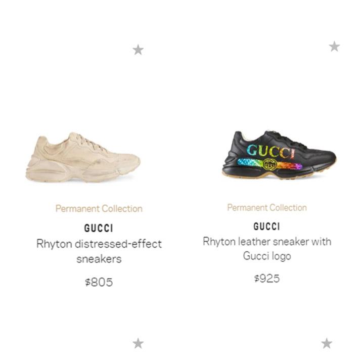 Giá bán giày Gucci rhyton