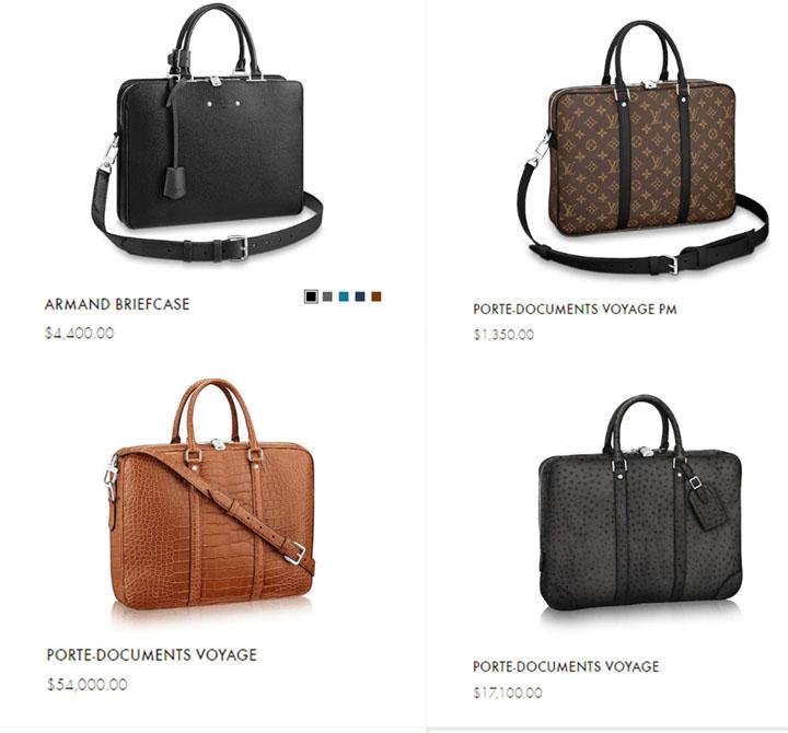 Túi LV nam công sở có giá bán bao nhiêu