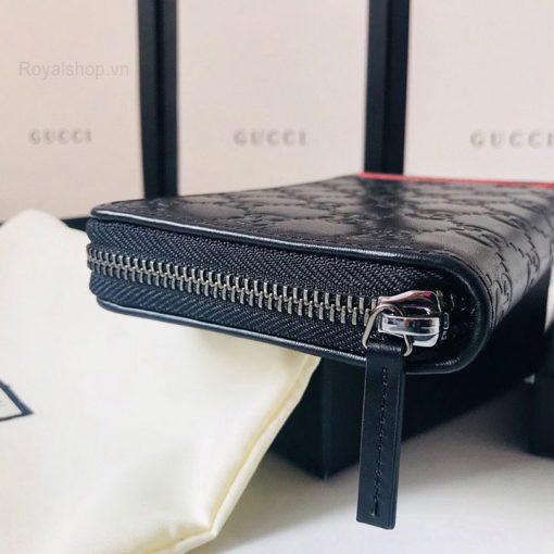 Khóa kéo ví được làm từ YKK cao cấp