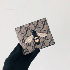 Trên tay ví nam Gucci con ong siêu cấp