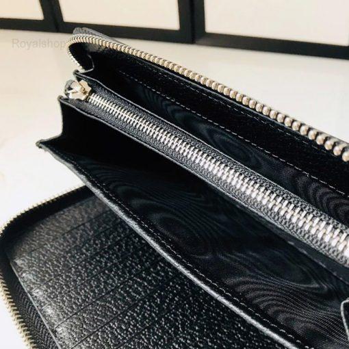 Ngăn nhỏ bên trong ví có khóa kéo