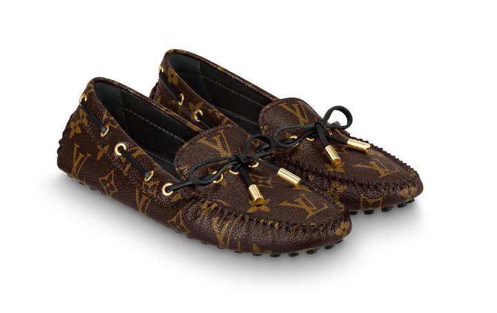 Giày lười nữ LV