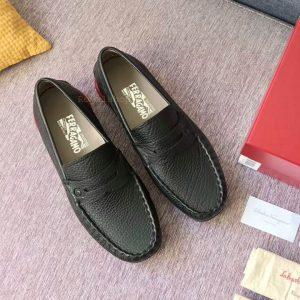 Giày bệt nam Ferragamo siêu cấp FEGN8126