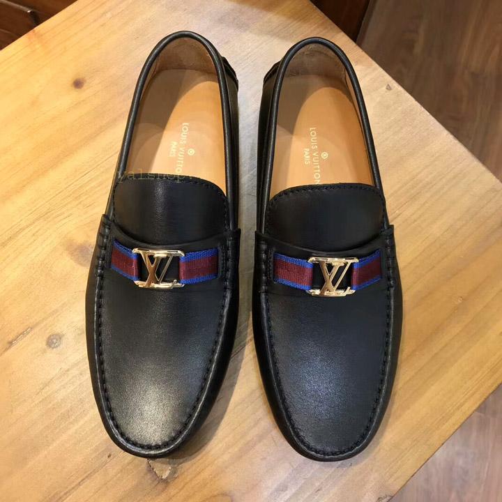Giày bệt nam LV siêu cấp LVGN542