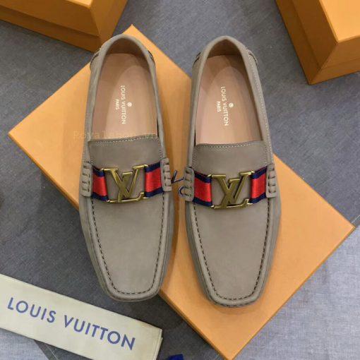 Giày bệt nam LV siêu cấp LVGN8128