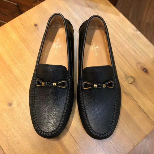 Giày lười nam LV thắt nơ siêu cấp LVGN540