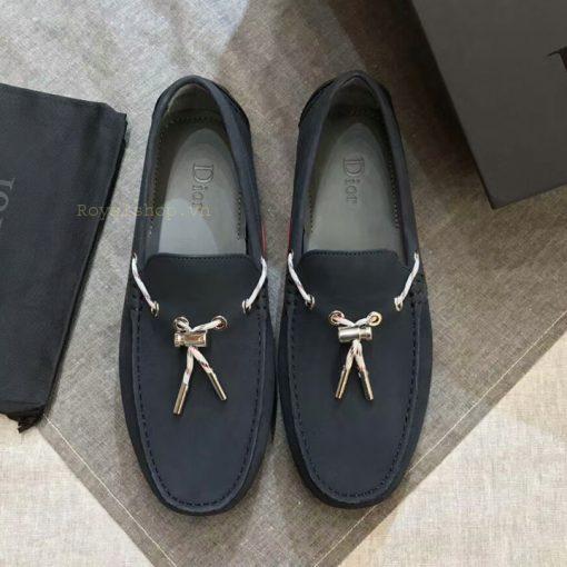 Giày nam Dior thắt nơ siêu cấp