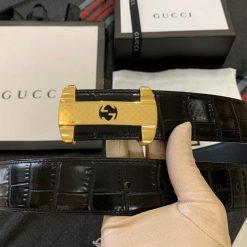 Mặt khóa thắt lưng nam Gucci