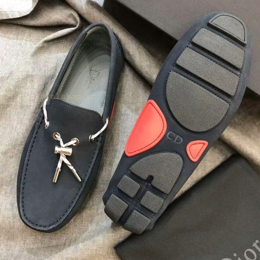 Phần đế giày nam thắt nơ Dior siêu cấp