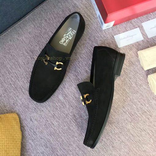 Phom giày nam Ferragamo được làm chuẩn Authentic