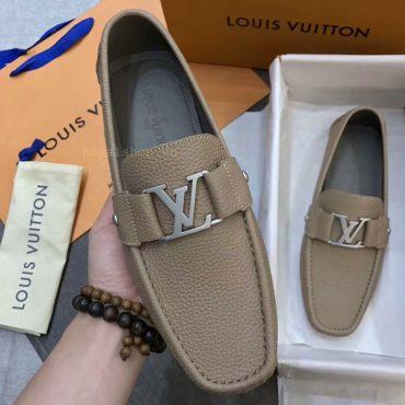 Trên tay giày LV nam siêu cấp LVGN8126