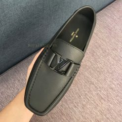 Trên tay giày lười nam LV siêu cấp LVGN812