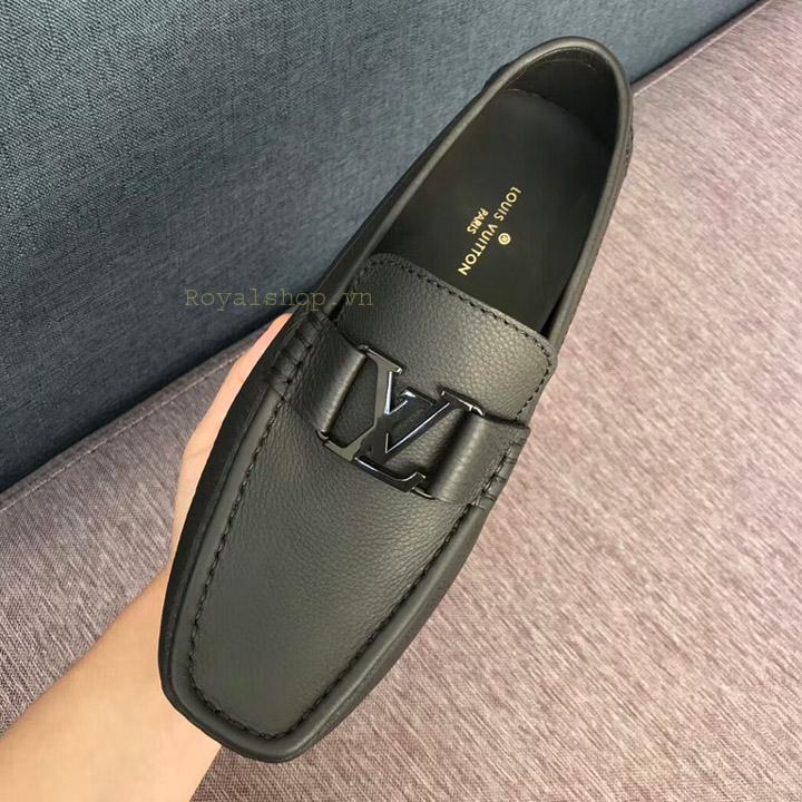 Trên tay giày lười nam LV siêu cấp LVGN8134