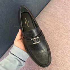 Trên tay giày nam LV công sở siêu cấp LVGN8122