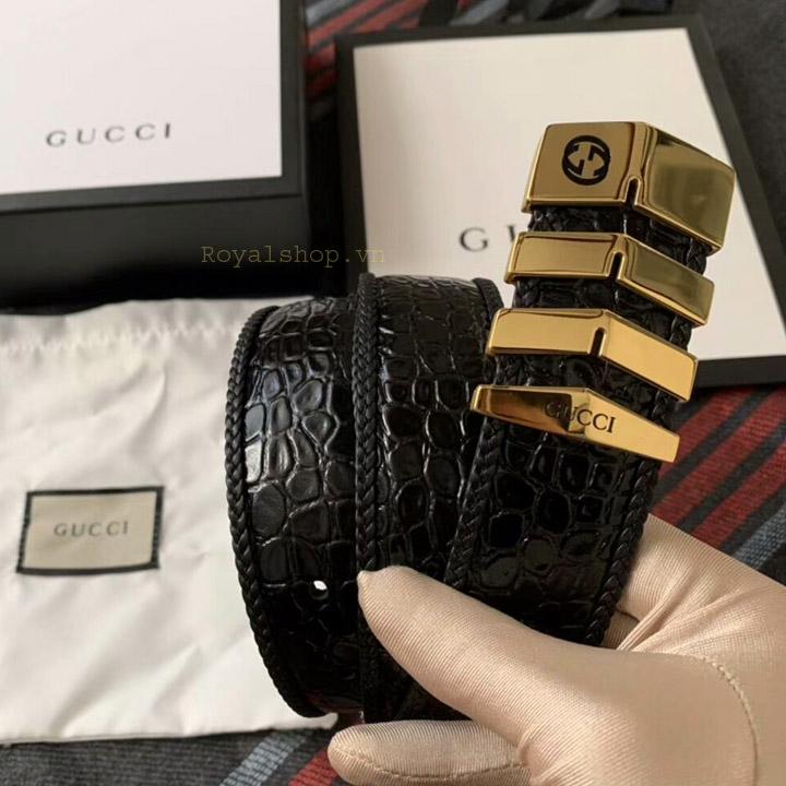 Trên tay thắt lưng Gucci nam siêu cấp GCTL5808