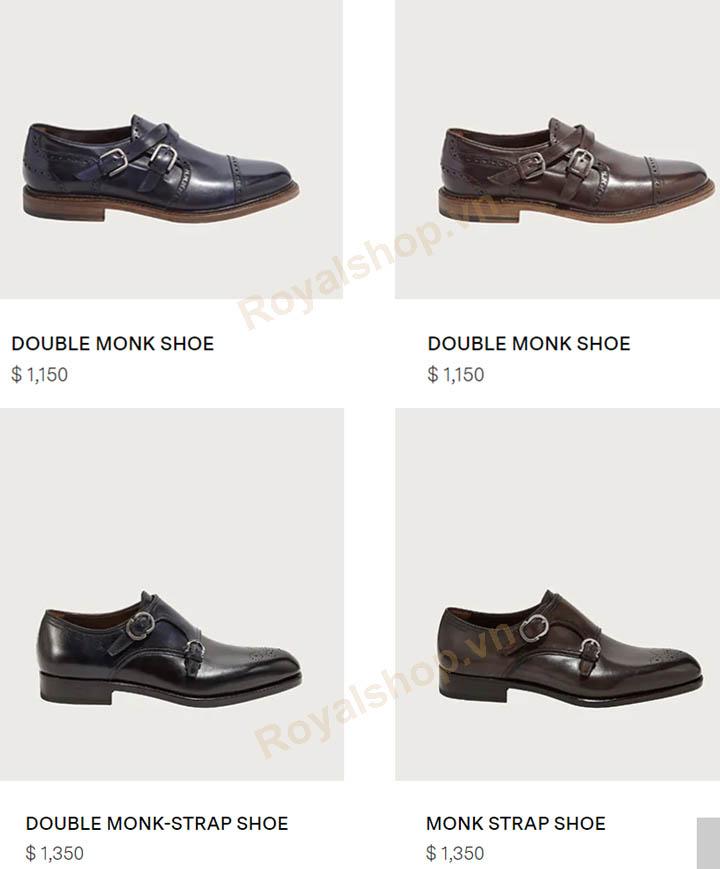 Giá bán giày SF Monk Straps