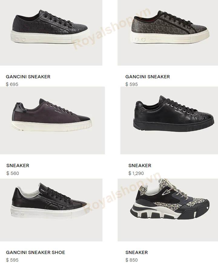 Giày thể thao Salvatore Ferragamo có giá bao nhiêu