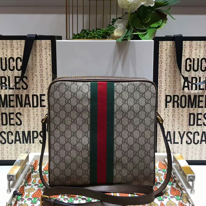 Mặt sau của túi Gucci nam siêu cấp GCTN8129