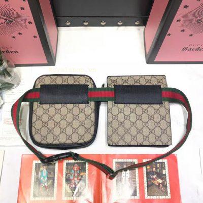 Mặt sau của túi nam đeo hông Gucci 8137