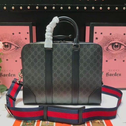 Mặt sau túi Gucci nam công sở 8134