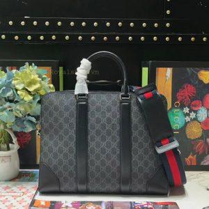 Mặt sau túi công sở Gucci nam siêu cấp GCTN8131