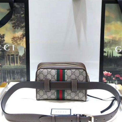 Mặt sau túi nam Gucci đeo bụng 8142