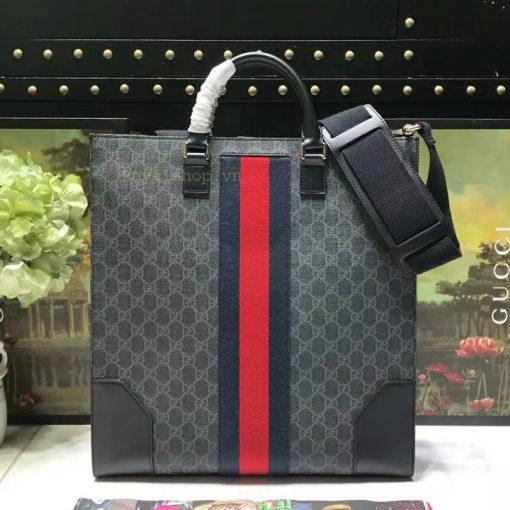 Mặt sau túi xách nam Gucci siêu cấp GCTN8133