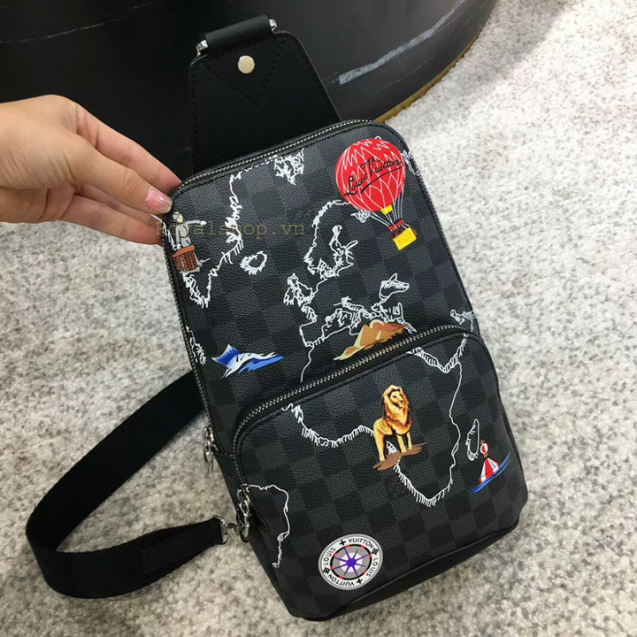 Túi nam đeo chéo LV siêu cấp 2020