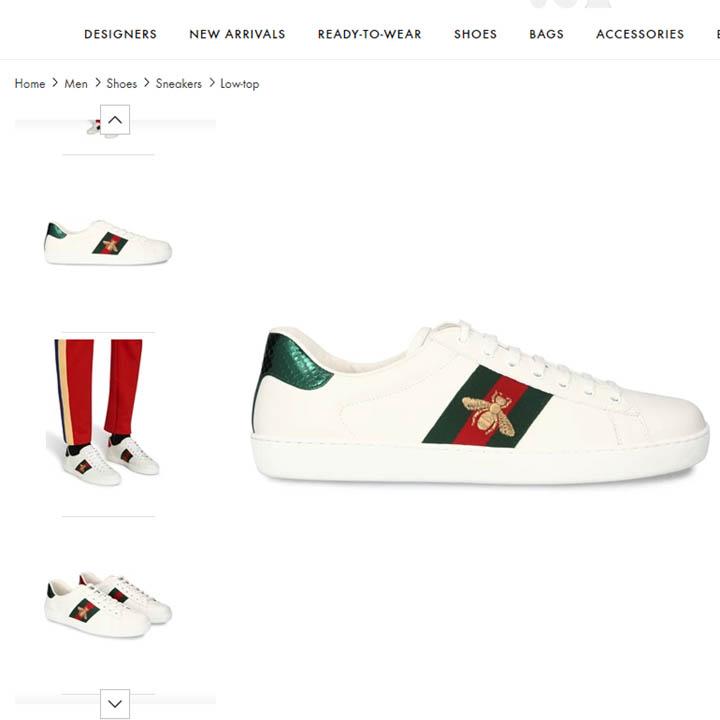Giày Gucci con ong chính hãng