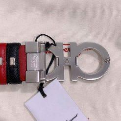 Chi tiết mặt sau khóa và dây nịt nam siêu cấp 897