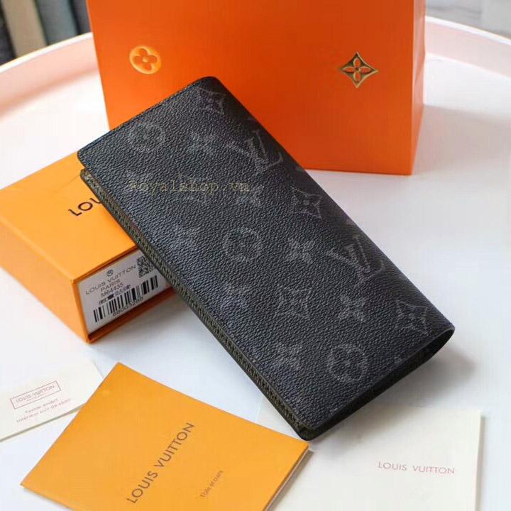Mặt sau của ví nam họa tiết Monogram