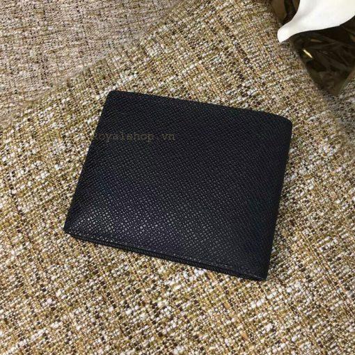 Mặt sau ví ngắn da Taiga