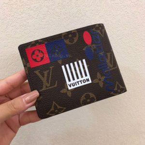Mặt sau ví nhỏ nam siêu cấp VN6014