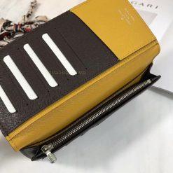 Ngăn khóa kéo bên trong ví nam