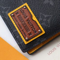 Tem da bên ngoài ví ngắn nam LV 6008